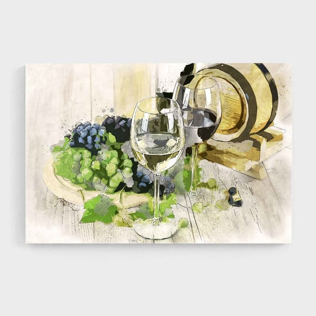 Straight From The Cellar - High Quality High Quality Stretched Canvas For Your Wall