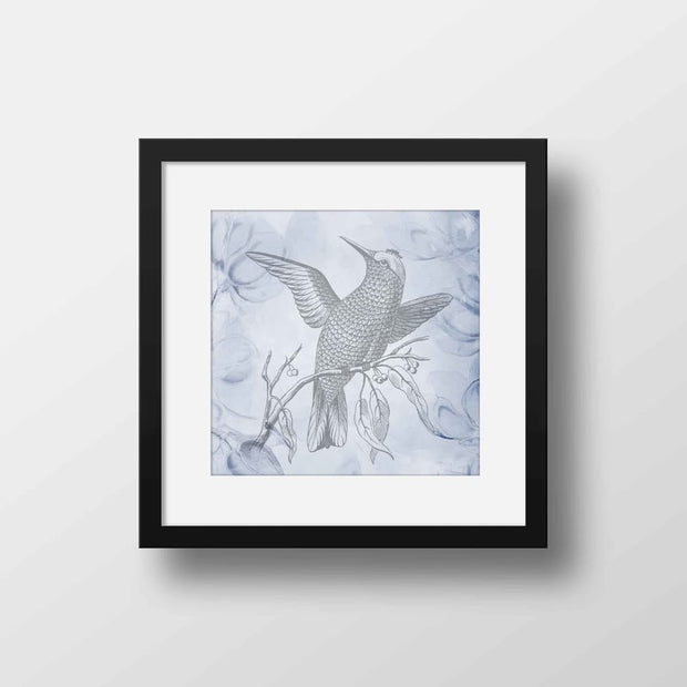 Vintage Bird - Nature Inspired Framed Mounted Art Print For Your Wall