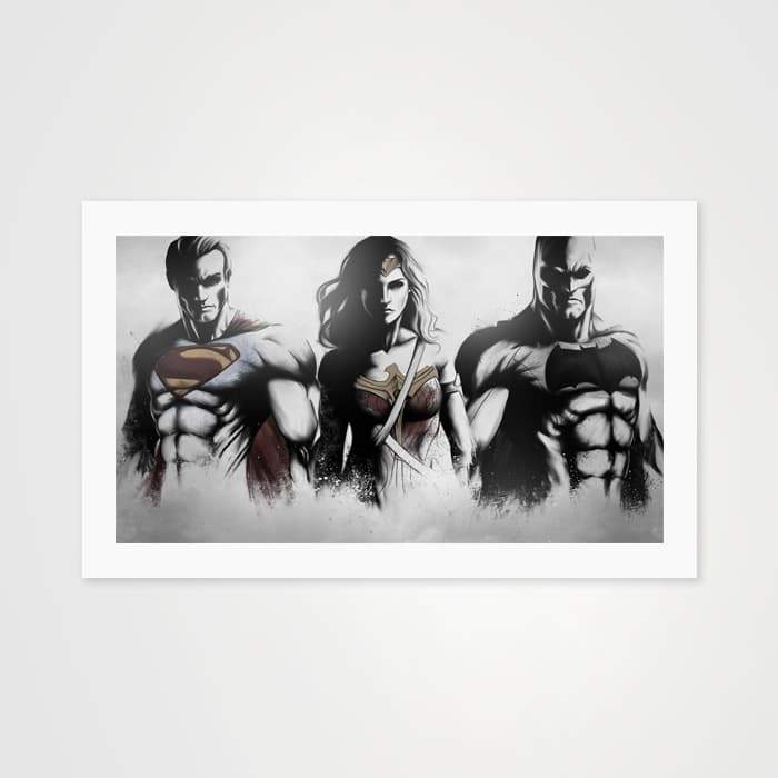 Dawn of Justice - High Quality Pop Art For Your Wall