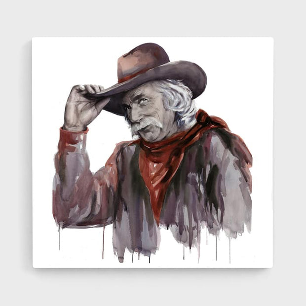 Howdy - High Quality High Quality Stretched Canvas For Your Wall