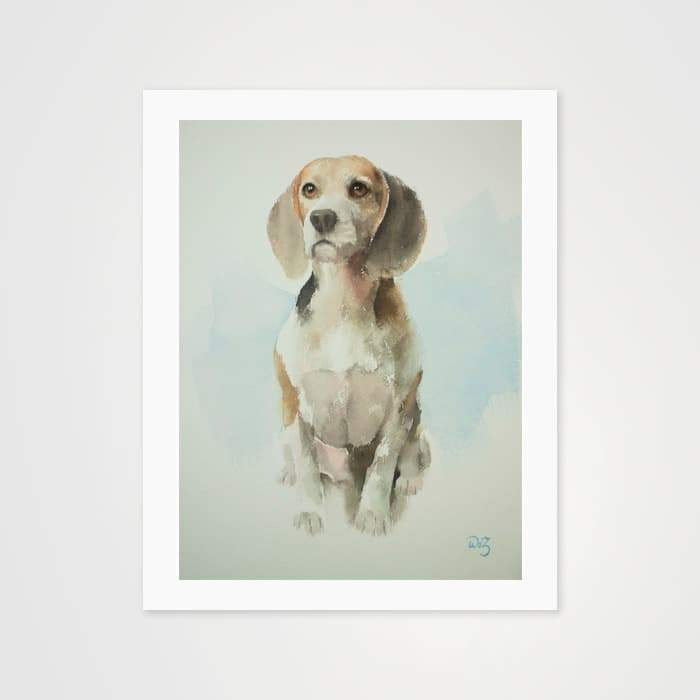 Beagle - Nature Inspired Art Print For Your Wall