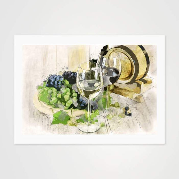 Straight From The Cellar - High Quality Art Print For Your Wall-Art Prints-GetArt