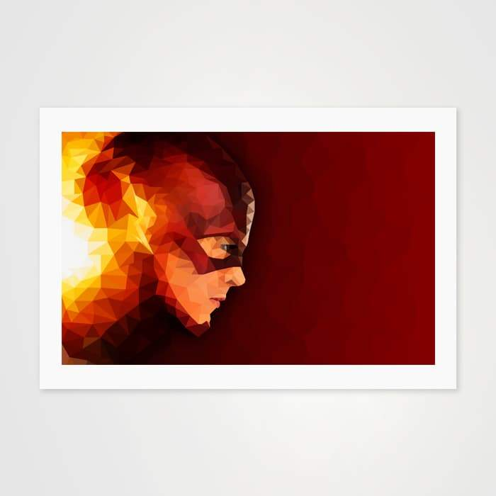 The Flash - High Quality Pop Art For Your Wall-Art Prints-GetArt