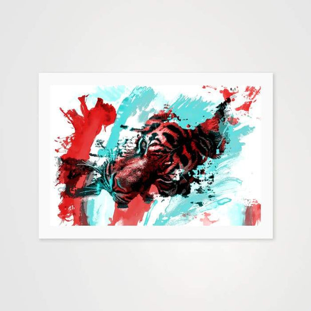 The Splatter - Nature Inspired Art Print For Your Wall-Art Prints-GetArt