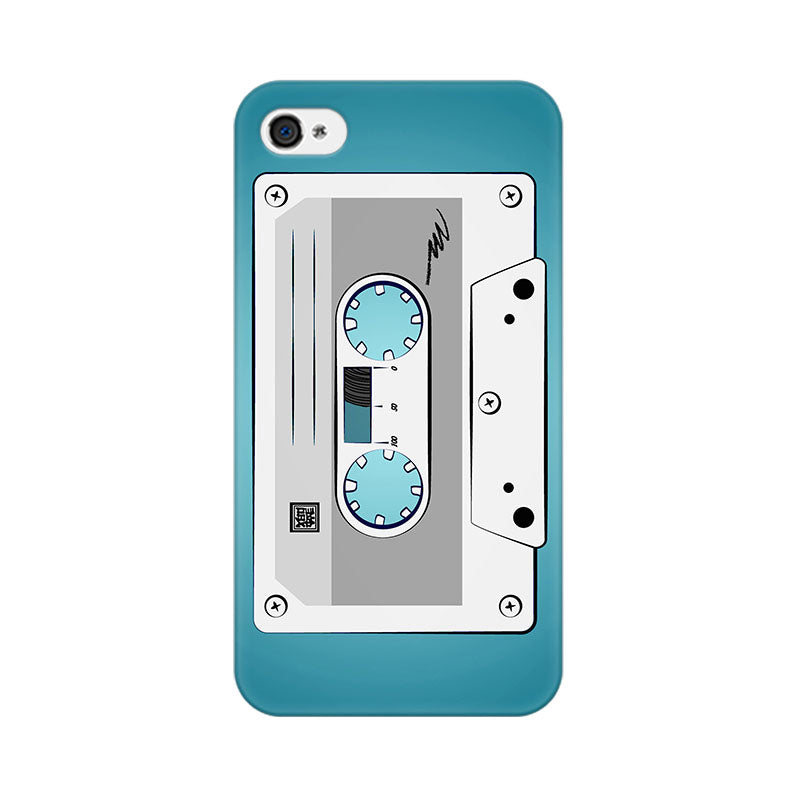 Apple iPhone 4 Casette Phone Cover & Case