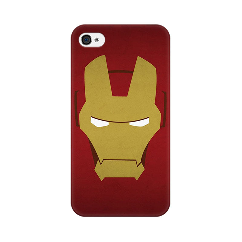 Apple iPhone 4 Iron Man Minimalist Phone Cover & Case