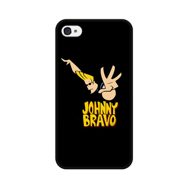 Apple iPhone 4 Johny Bravo Phone Cover & Case