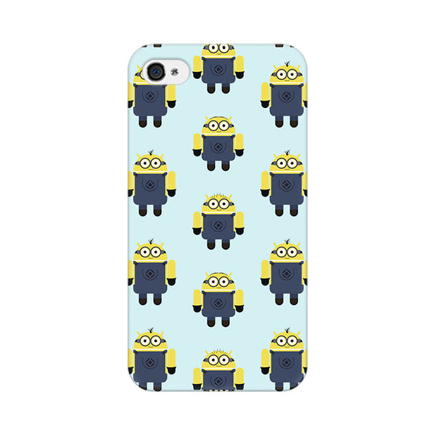 Apple iPhone 4 Minion Love Phone Cover & Case