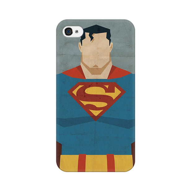 Apple iPhone 4 Superman Minimalist Phone Cover & Case