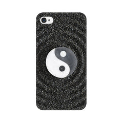 Apple iPhone 4 Yin And Yang Stones Phone Cover & Case
