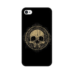 Apple iPhone 4 Ancient Skull Phone Cover & Case