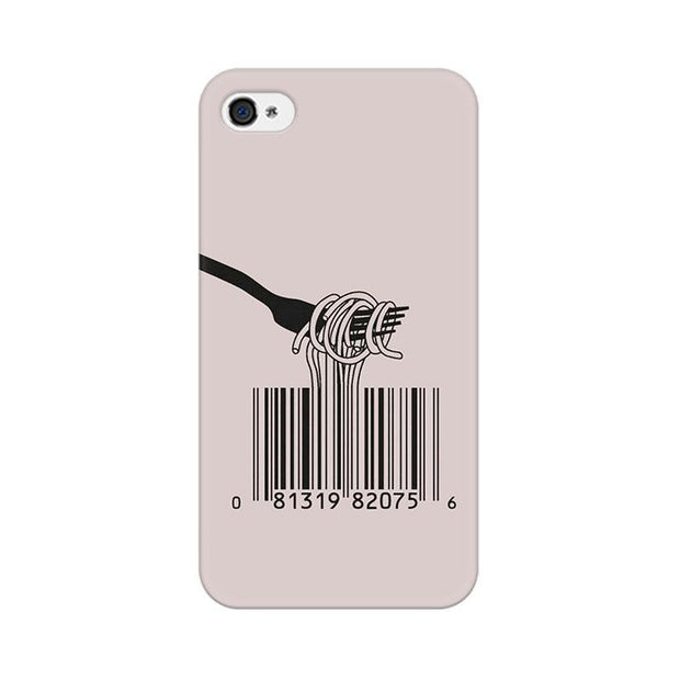 Apple iPhone 4 Barcode Noodels Phone Cover & Case