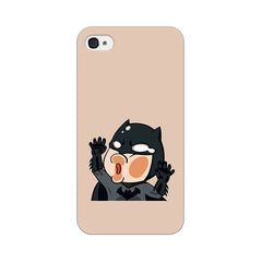 Apple iPhone 4 Batman Stuck On My Phone Phone Cover & Case