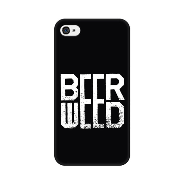 Apple iPhone 4 Beerweed Phone Cover & Case