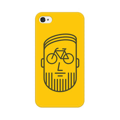 Apple iPhone 4 Bikeface Phone Cover & Case