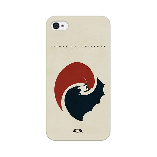 Apple iPhone 4 Dawn Of Justice Capes Flying Phone Cover & Case