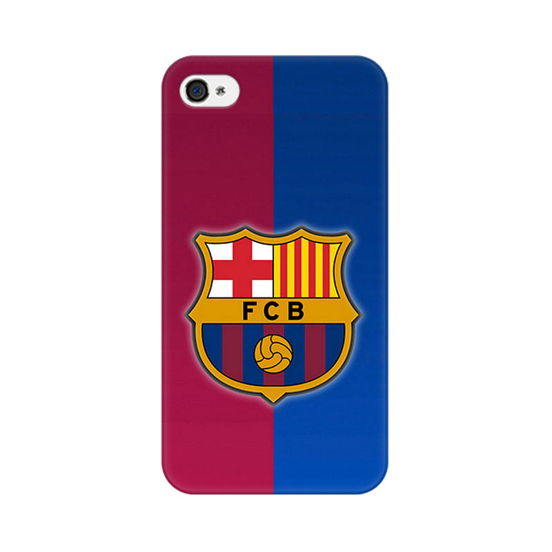 Apple iPhone 4 Fcb Logo Phone Cover & Case