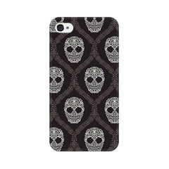 Apple iPhone 4 Floral Skull 2 Phone Cover & Case