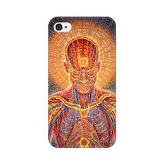 Apple iPhone 4 Human Mantra Phone Cover & Case