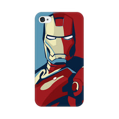 Apple iPhone 4 Iron Man Poster Phone Cover & Case