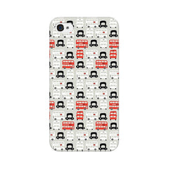 Apple iPhone 4 London Cab And Bus Phone Cover & Case