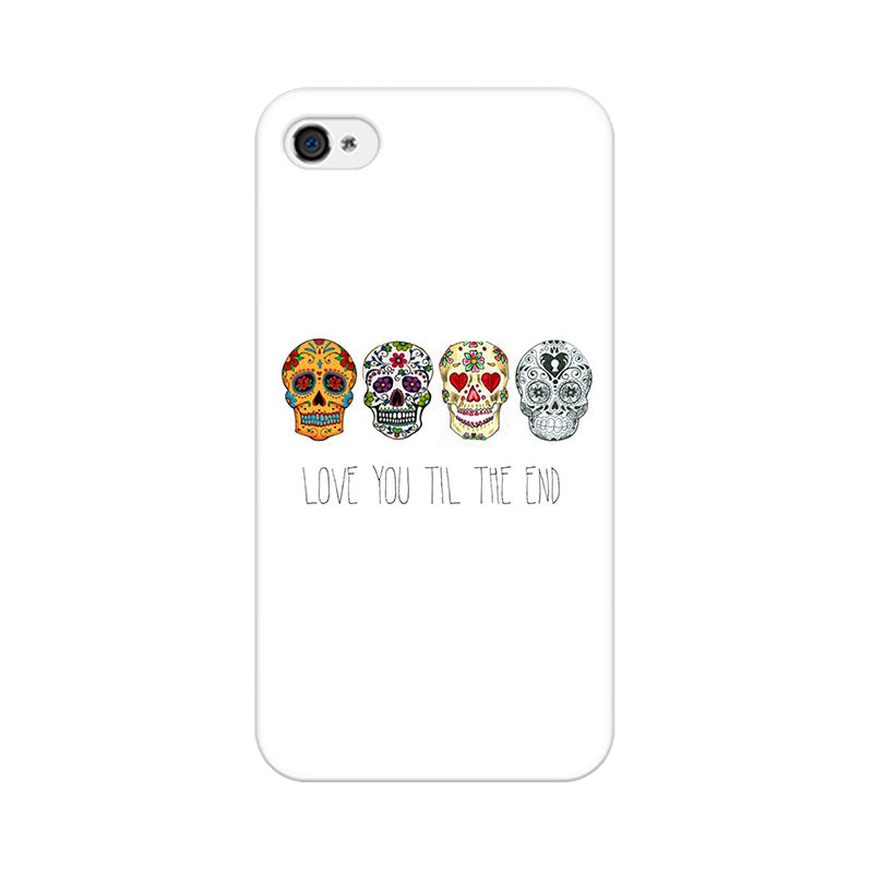 Apple iPhone 4 Love Till The End Phone Cover & Case