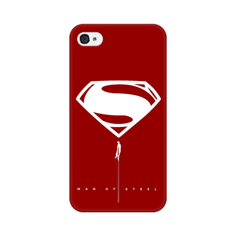 Apple iPhone 4 Man Of Steel Phone Cover & Case