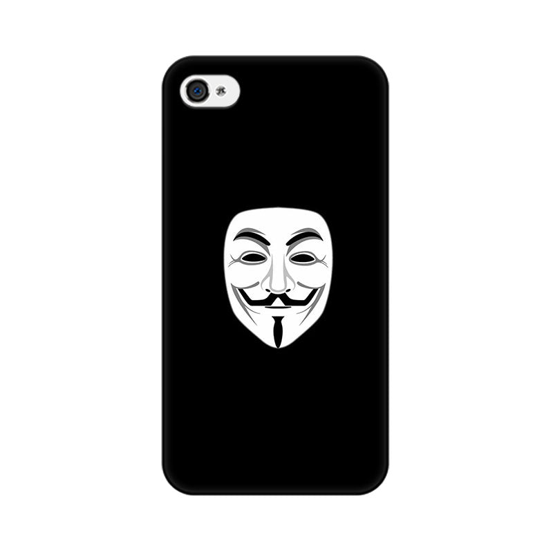 Apple iPhone 4 Mask Of V Phone Cover & Case
