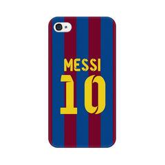 Apple iPhone 4 Messi 10 Phone Cover & Case
