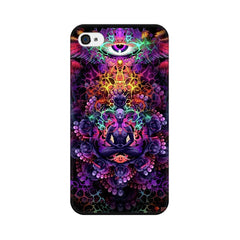 Apple iPhone 4 Psychedelic Buddha Phone Cover & Case