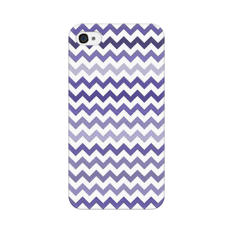 Apple iPhone 4 Purple Chevron Shades Phone Cover & Case