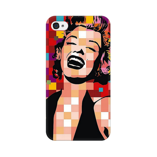 Apple iPhone 4 Retro Monroe Phone Cover & Case