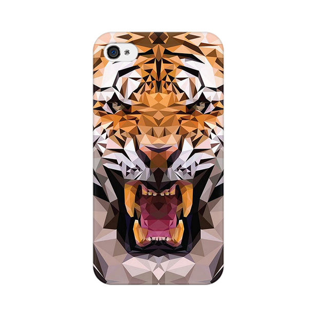 Apple iPhone 4 Roaring Tiger Phone Cover & Case