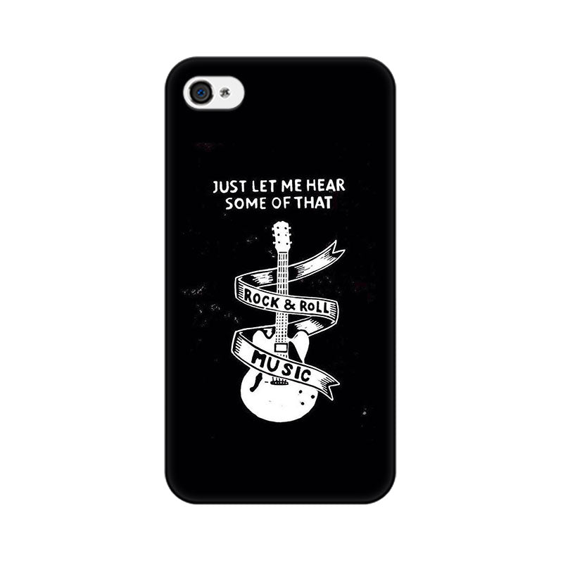 Apple iPhone 4 Rock And Roll Phone Cover & Case