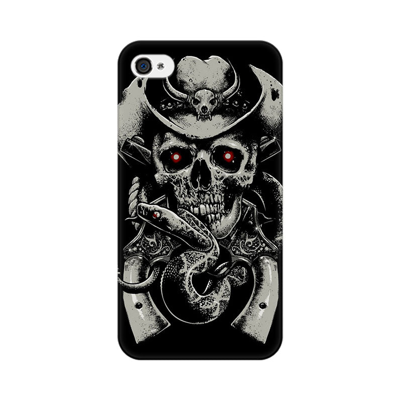 Apple iPhone 4 Skull Fear Phone Cover & Case