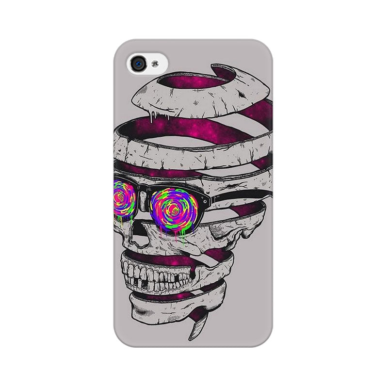 Apple iPhone 4 Skull Maker Phone Cover & Case