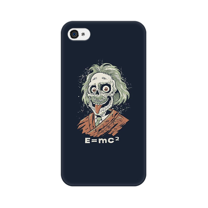 Apple iPhone 4 Skully Einstein Phone Cover & Case