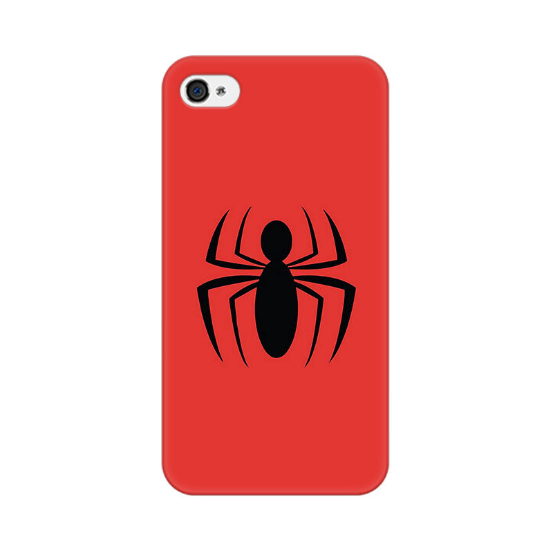 Apple iPhone 4 Spiderman Spider Phone Cover & Case