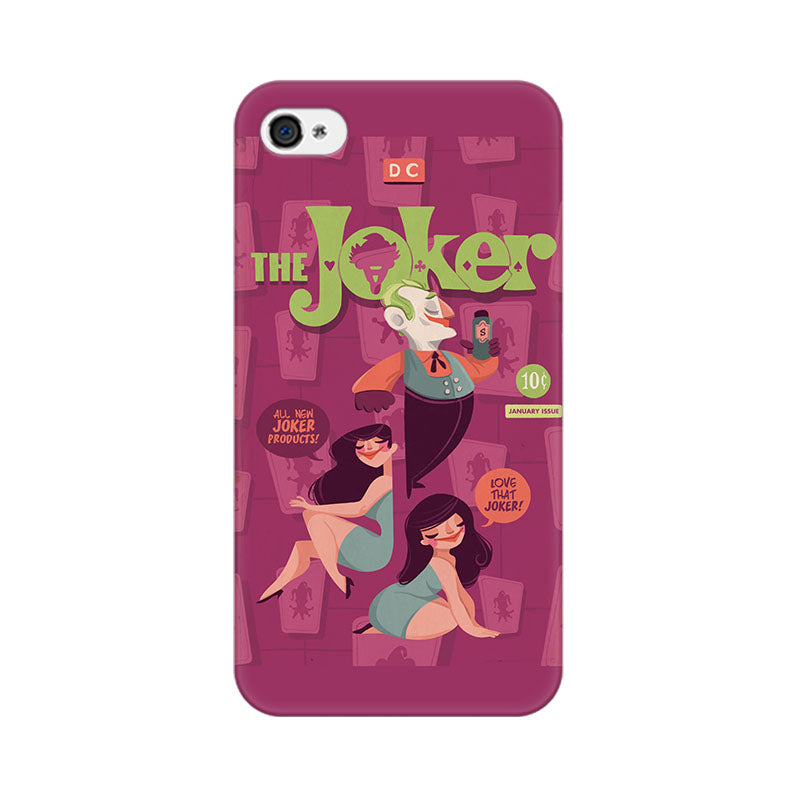 Apple iPhone 4 The Joker Phone Cover & Case