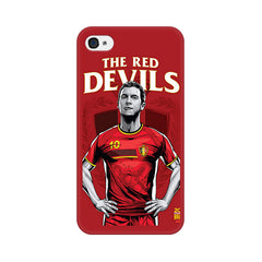 Apple iPhone 4 The Red Devils Phone Cover & Case