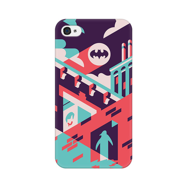 Apple iPhone 4 Where Is Batman Phone Cover & Case