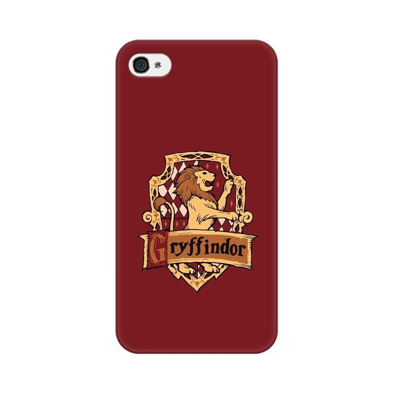 Apple iPhone 4 Gryffindor House Crest Harry Potter Phone Cover & Case