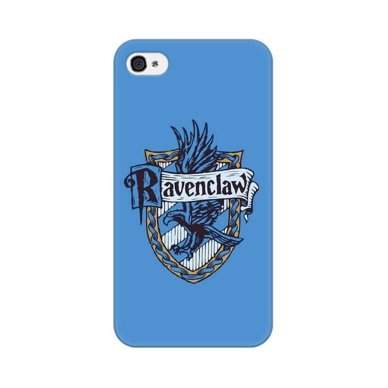 Apple iPhone 4 Ravenclaw House Crest Harry Potter Phone Cover & Case