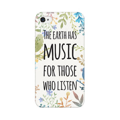 Apple iPhone 4s Music Of Earth Phone Cover & Case