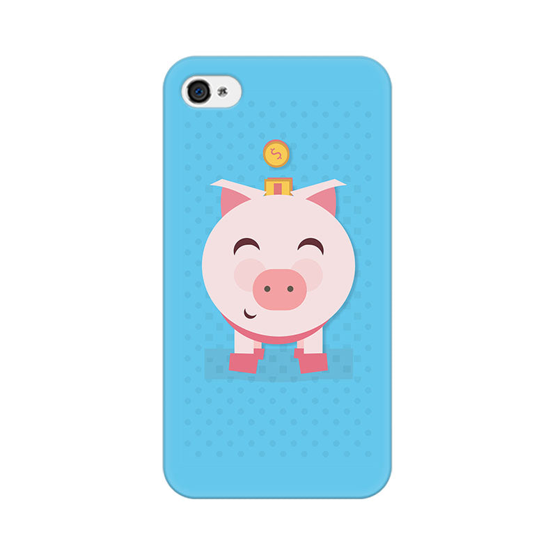 Apple iPhone 4s Pig Money Phone Cover & Case