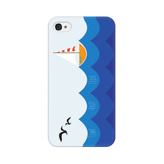 Apple iPhone 4s Time And Tide Phone Cover & Case