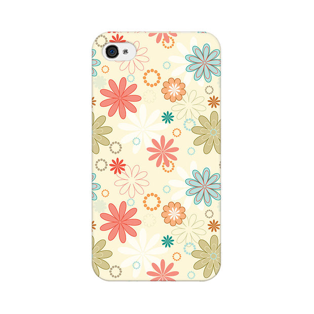 Apple iPhone 4s Floral Romance Phone Cover & Case