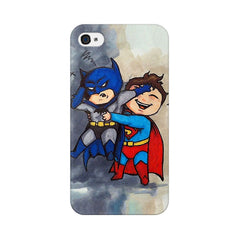Apple iPhone 4s Batman And Superman Kids Phone Cover & Case
