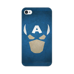 Apple iPhone 4s Captain America The Great Defender Phone Cover & Case