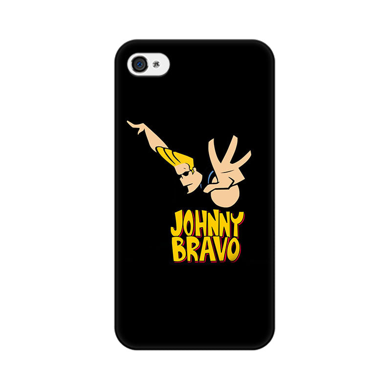 Apple iPhone 4s Johny Bravo Phone Cover & Case